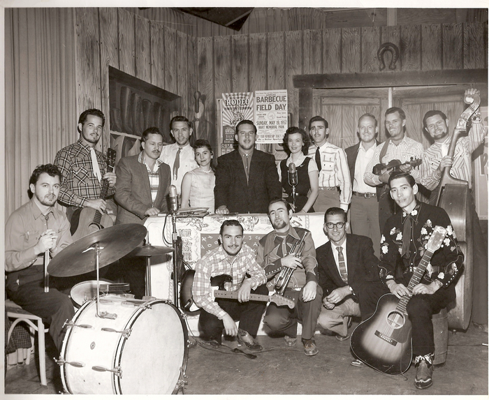 Billy Mize is second from the left.