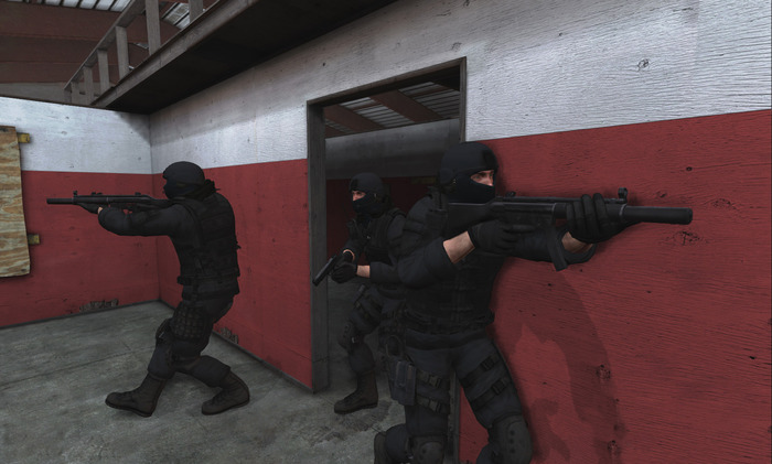 CQB Breach and Clear in urban environments