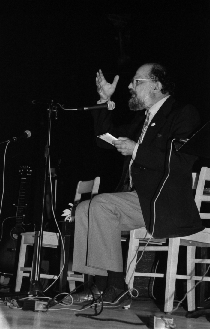 Allen Ginsberg reads from 'Howl'