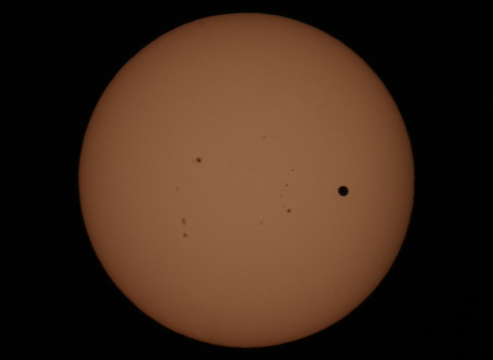 Venus transits the sun on June 5th 2012.