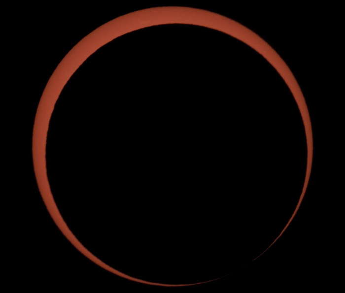 May 20th Annular Solar Eclipse taken from Nevada