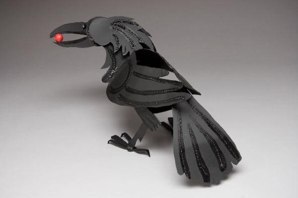 Raven  (life size)