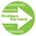 "This project is proudly participating in the ""Kicking it Forward"" program, whereby 5% of the profit from this project will be used as pledges for other Kickstarter projects, in support of the KickStarter community."