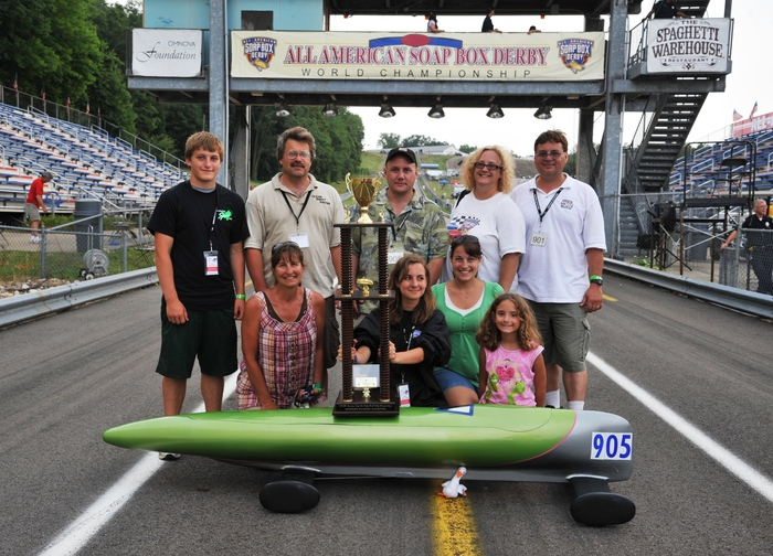 2011 CSSN Racing: 26.585 -  track record
