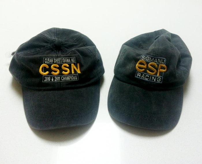 Old School (esp) Logo hat & CSSN Racing Logo Hat.
