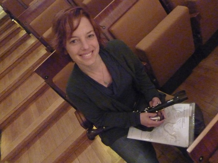 waiting for rehearsal in the Berlin Philharmonie, Sept 2010