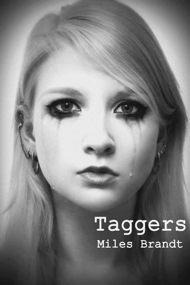 THE official Taggers cover, featuring Maria Amanda (Lea Series #1)