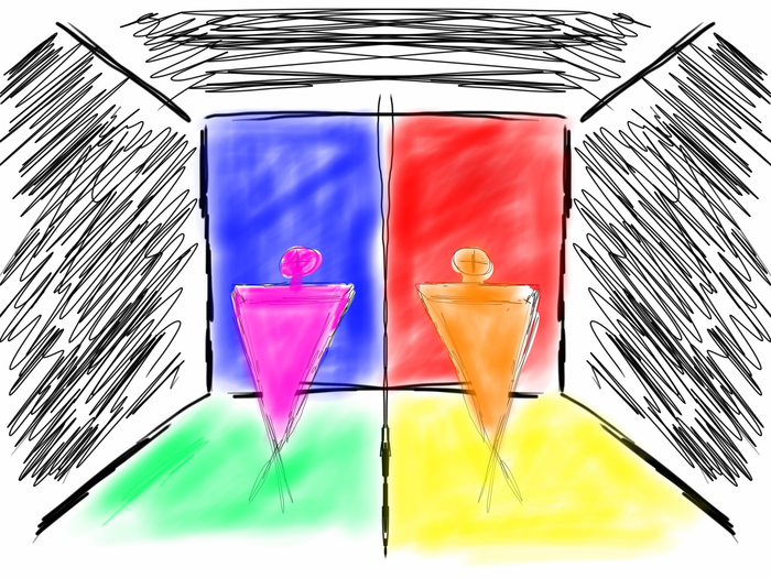 Concept Sketch - Discover Color