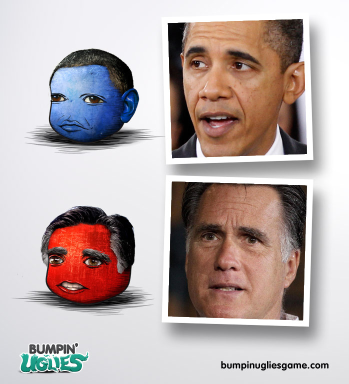 Take a look at what Ugly Obama and Ugly Romney look like!