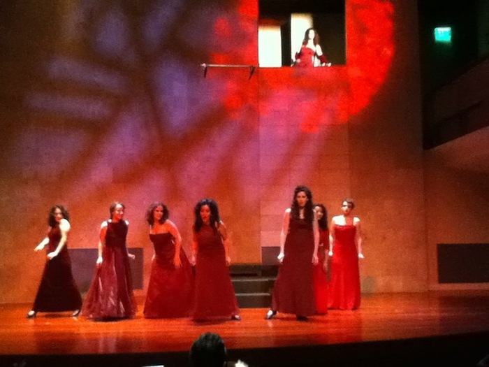 BASOTI Students performing Dido and Aeneas at the San Francisco Conservatory of Music