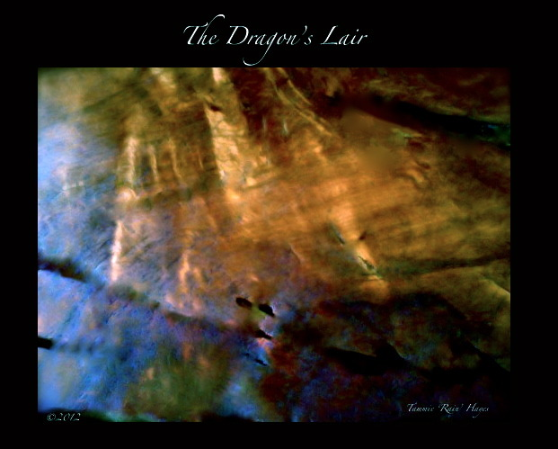 """The Dragon's Lair"" is yet another digitally created work of art that I would like to produce as a one-of-a-kind limited edition print"