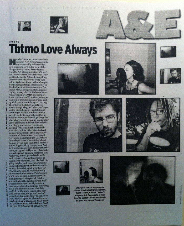 Philadelphia Weekly, February 2002