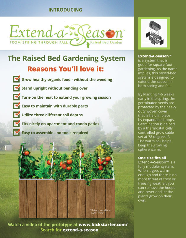 Extend-A-Season Brochure - Front