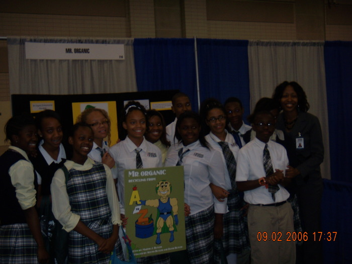 MEMPHIS BUSINESS ACADEMY STUDENTS AND DR. CLARK