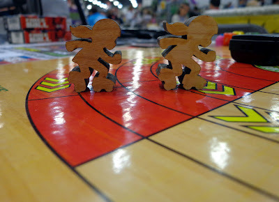 Preview of Roller Derby Meeples (Included in Each Game!)