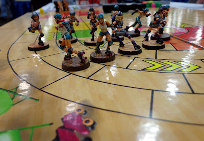 Roller Derby Pewter Figures (Optional)