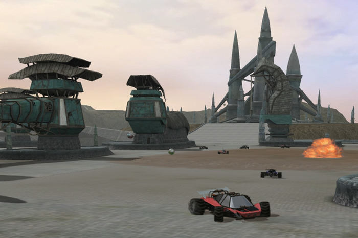 Home of a popular vehicle combat sport in Eidolon (shot in alpha world)
