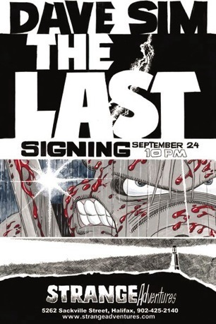 The Last Signing Postcard