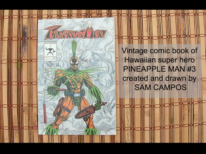 Pineapple Man #3