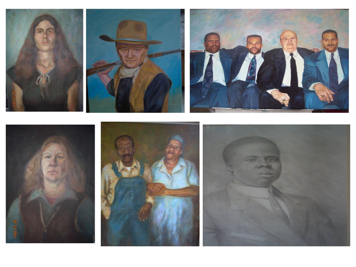 KELVIN BUTLER THE ARTIST PORTRAITS