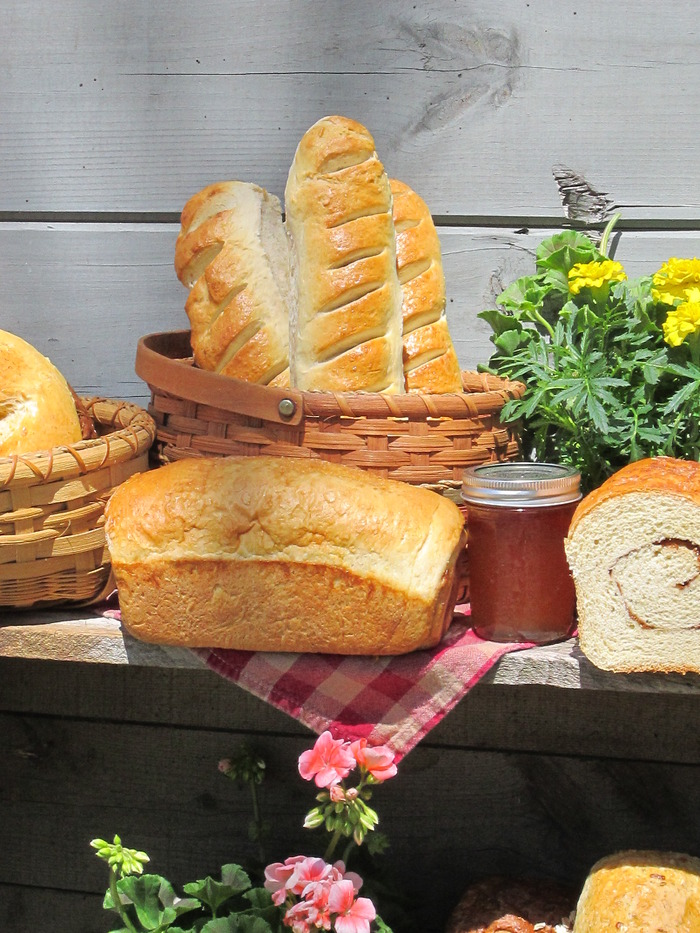 I would love to teach folks how to make these delicious breads using goat milk or the whey from making cheese!