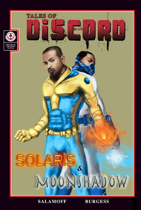 NOEL CLARKE as SOLARIS & MOONSHADOW