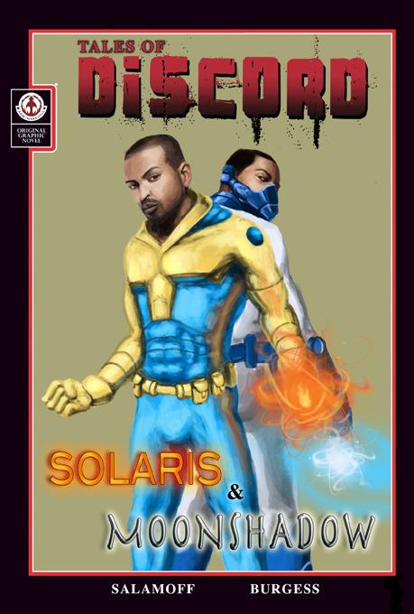 NOEL CLARKE as SOLARIS & MOONSHADOW