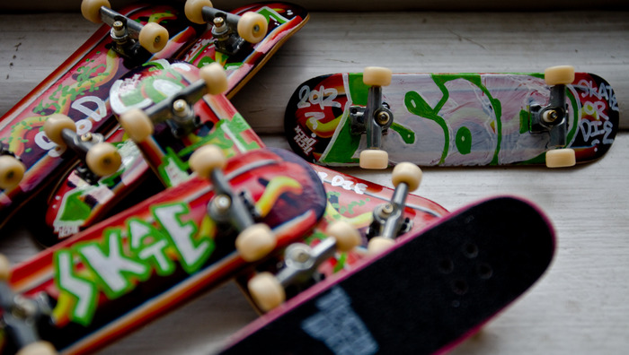 "$15 Incentive - Hand Customized, ""Chicago-Style Hot Dog"" Tech-Deck"