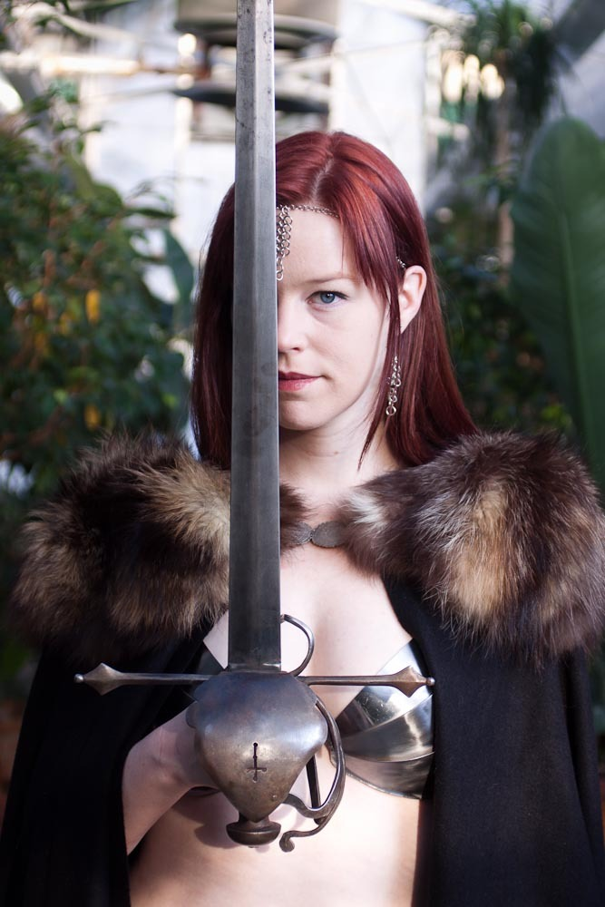 Marian Call ready to Quest a Quest. Photo by Studio Valette, http://studiovalette.com.
