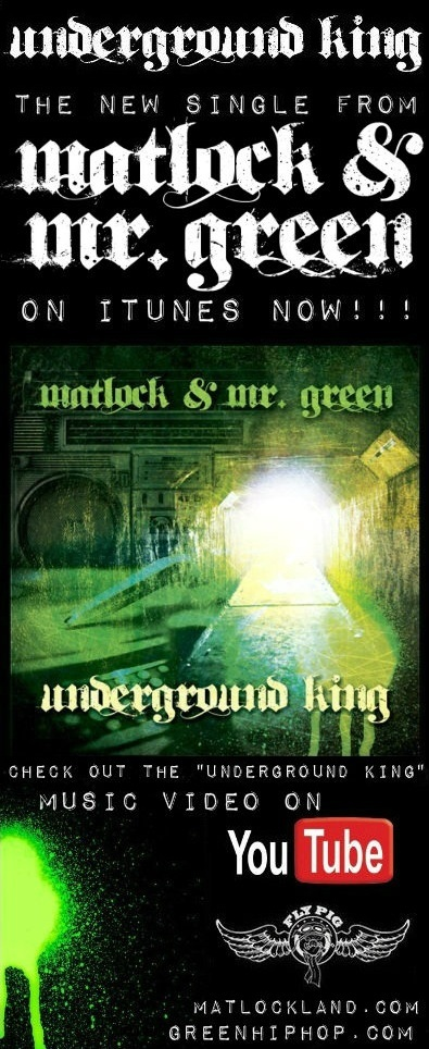 "Matlock & Mr. Green ""UNDERGROUND KING"" music video"