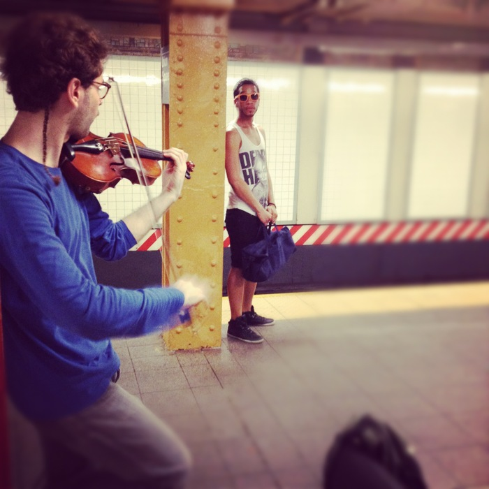 Another typical day in the subway.