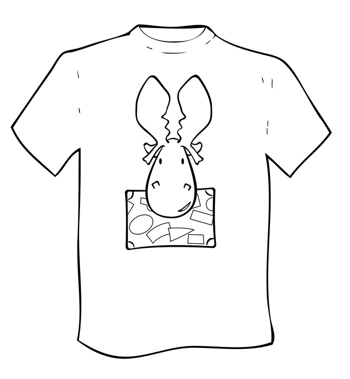 The design for the Maurice T-Shirt