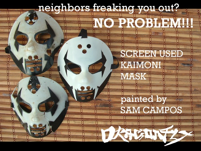 Screen used Kaimoni Masks