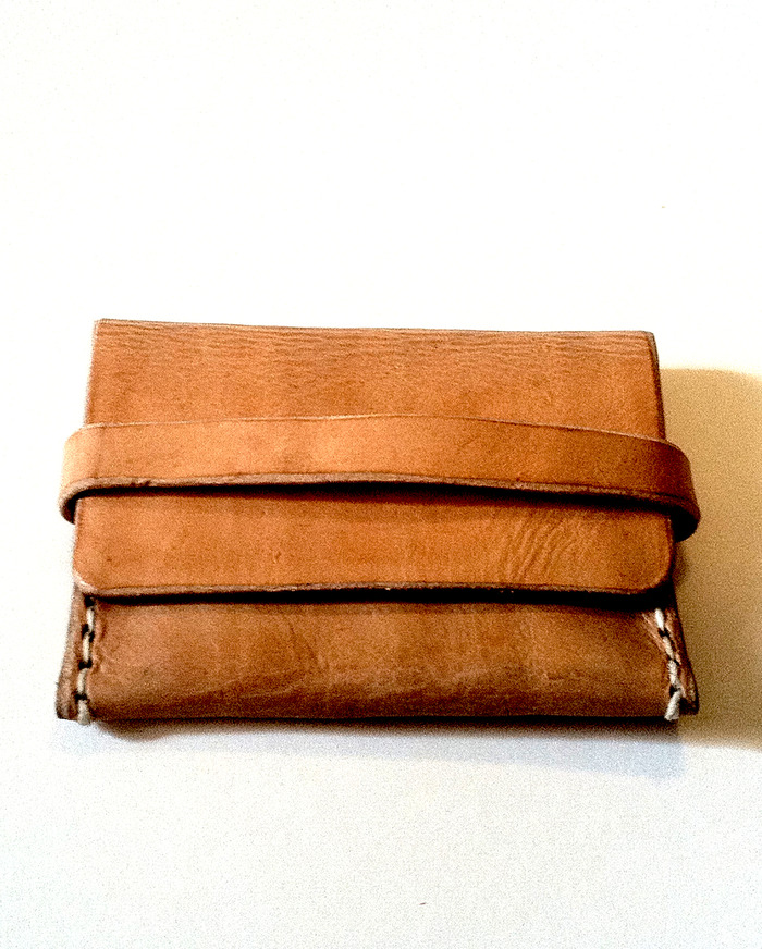 Leather Card Case or Simple Wallet
