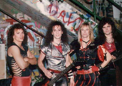 Detonation Tour - Minnesota, USA: 1987 (Welling, Zaffiro, Carlsen, Bloodgood)