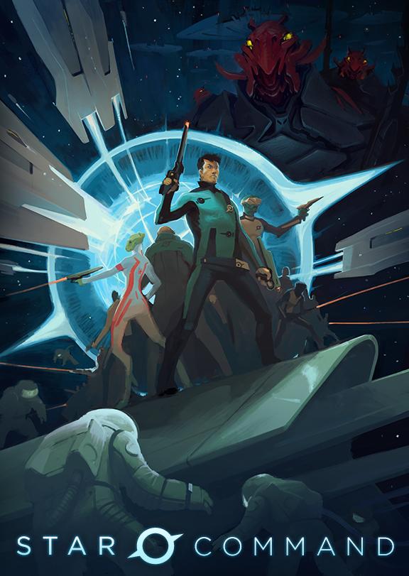 Star Command Kickstarter Poster