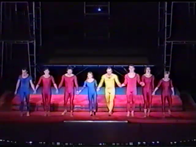 STREB Action Heroes at the Annenberg Center, 2000