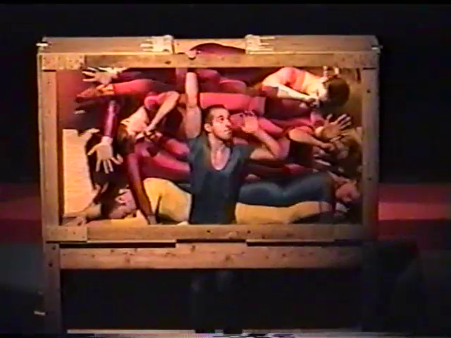 "STREB Company performing ""Squirm,"" 2000"