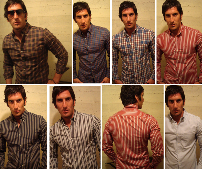 Men's Modern Fit Button Downs. You will have up to 10 different patterns to choose from once we're funded. $95 Pledge Per Button Down Shirt.
