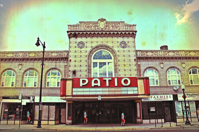 The Patio Theater in Chicago's Northwest side.