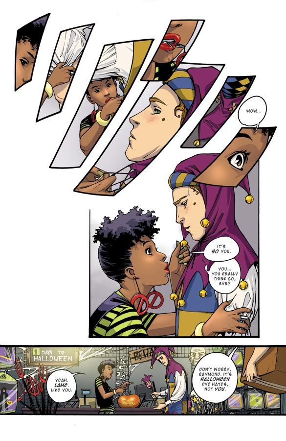 HALLOWEEN EVE page 01