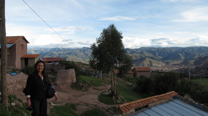 Maren in Pucara, one of the communities that she will live in with her crew in 2012/2013.