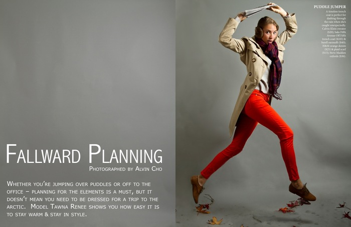 Fallward Planning - Fall / Winter 2011 Fashion Editorial