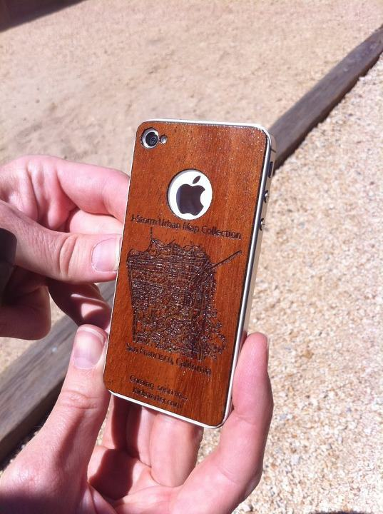 iPhone Backing - Wood