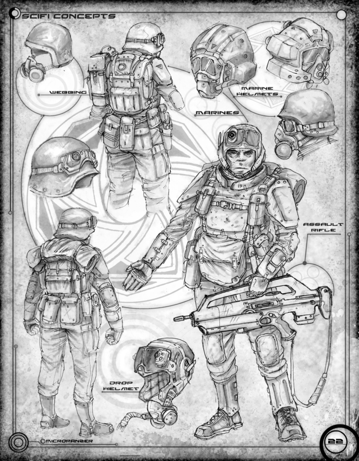 Page 26: Marines and Equipment