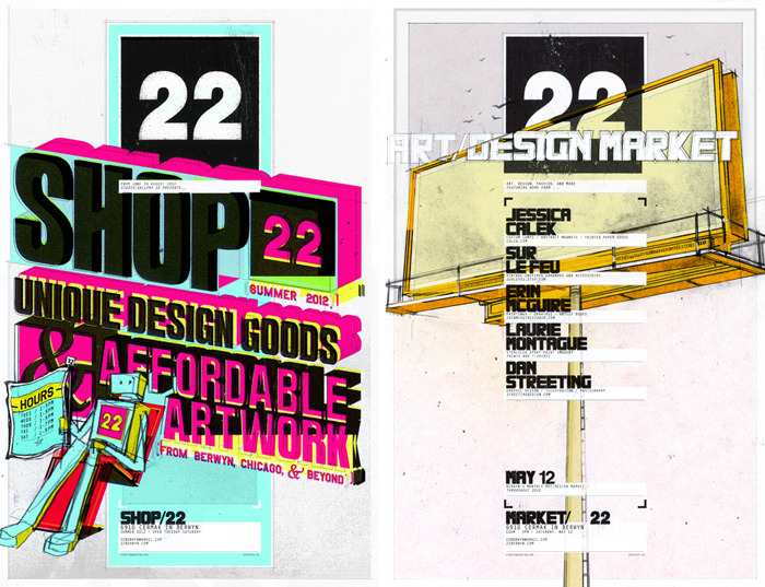 previous events: Shop22 & Art/Design Market March 2012