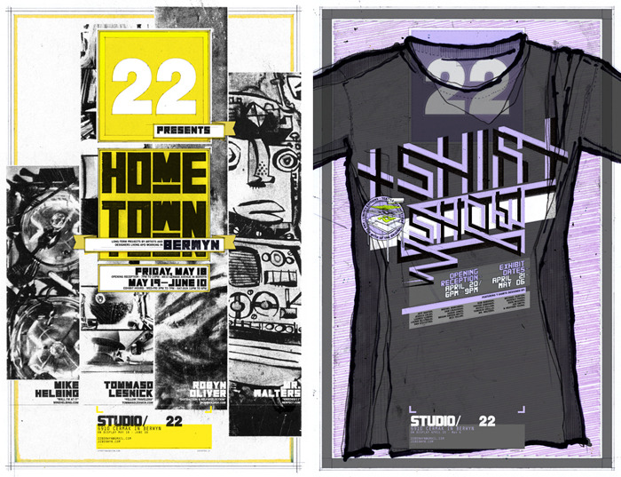 previous exhibits: Home Town Berwyn & The T-Shirt Show
