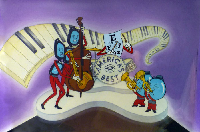 """Band"" Cel from Eyeglass series"