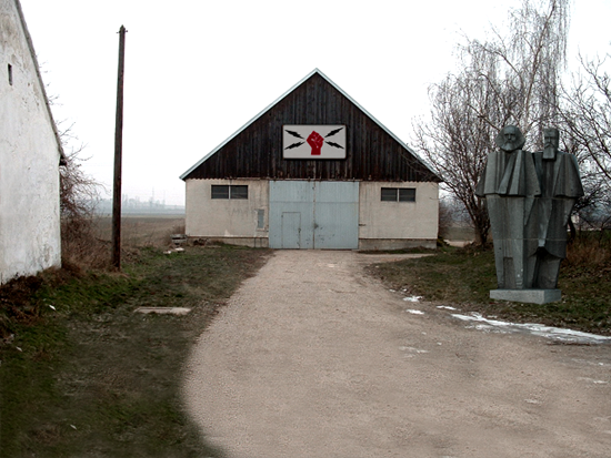 Photoshopped example of location in Soviet Unterzoegersdorf. The original images were taken in Unterzoegersdorf, Austria.
