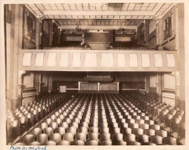 View from the Stage 1914